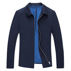 Customised Casual fashion Loose Zipper Solid Color Coat ,  corporate gifts