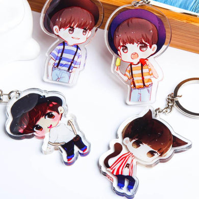 Customised Acrylic Anime Cartoon Key Chain ,  corporate gifts