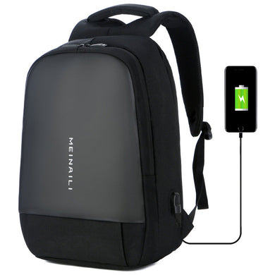 Customised USB Smart Charging Men's Backpack ,  corporate gifts