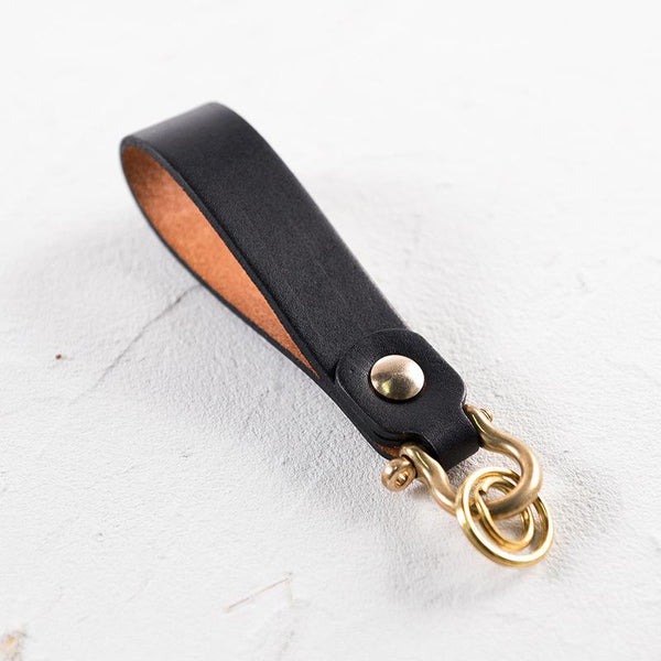 Customised Veg Tanned Leather Keychain ,  corporate gifts