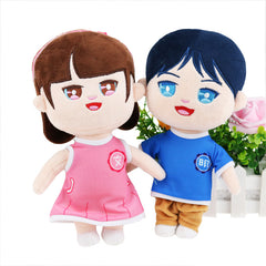 Customised Cartoon Idol Star Doll ,  corporate gifts