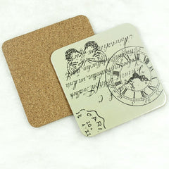 Advertising gray board coasters customized