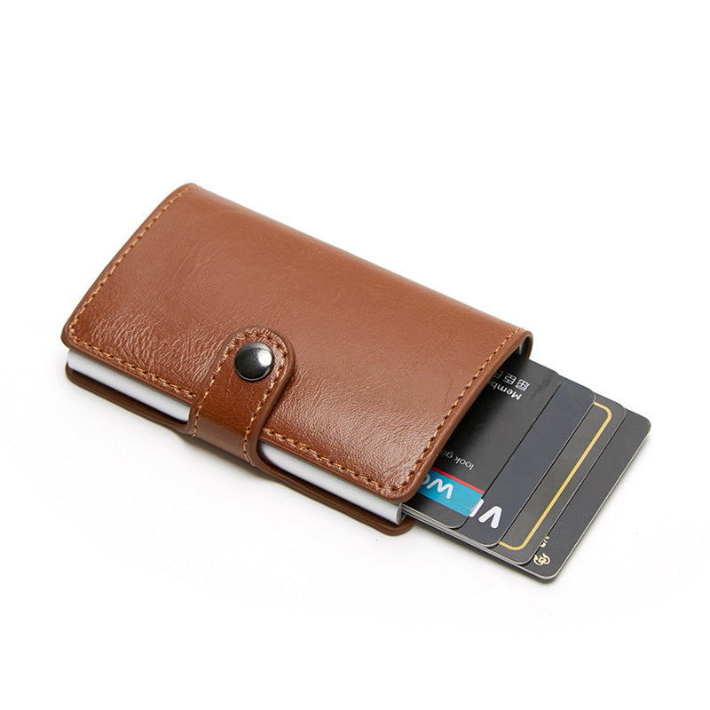 Customised Smart Premium Leather Card Holder - RFID Shield ,  corporate gifts