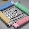 Load image into Gallery viewer, Stainless Steel Travel Portable Tableware, Knives, Forks, Spoons, Pipets