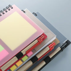 Customised Creative Post-IT Combination Notepad th Pen ,  corporate gifts