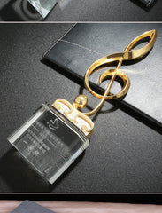 Crystal Music Competition Trophy