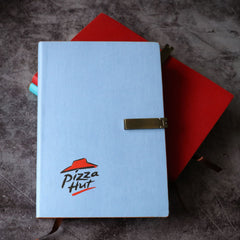 Customised Leather Notebook with Folding Buckle ,  corporate gifts