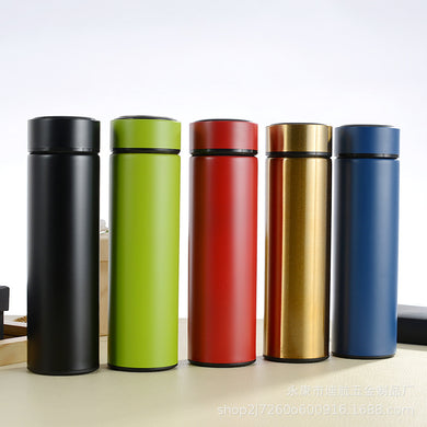 2019 new stainless steel vacuum flask vacuum 304 cup business gift office water cup custom stainless steel cup