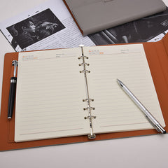 Customised Loose-leaf High-end Business Notebook ,  corporate gifts
