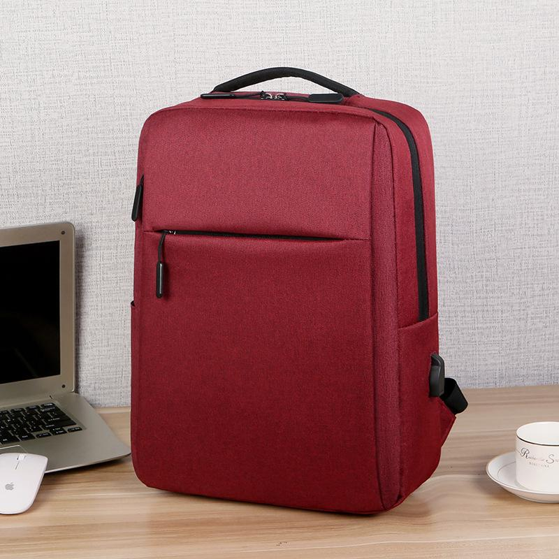 Customised USB Charging Computer Shoulder Backpack ,  corporate gifts