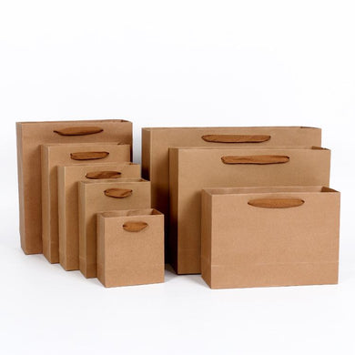 Customised Kraft Paper Shopping Bag ,  corporate gifts