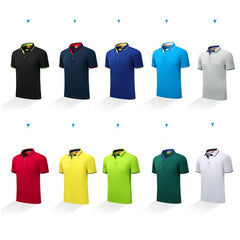 Customised Polo Printed Logo Short-Sleeved T-Shirt ,  corporate gifts