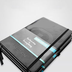 Customised A5 Black Double Glue Notebook ,  corporate gifts