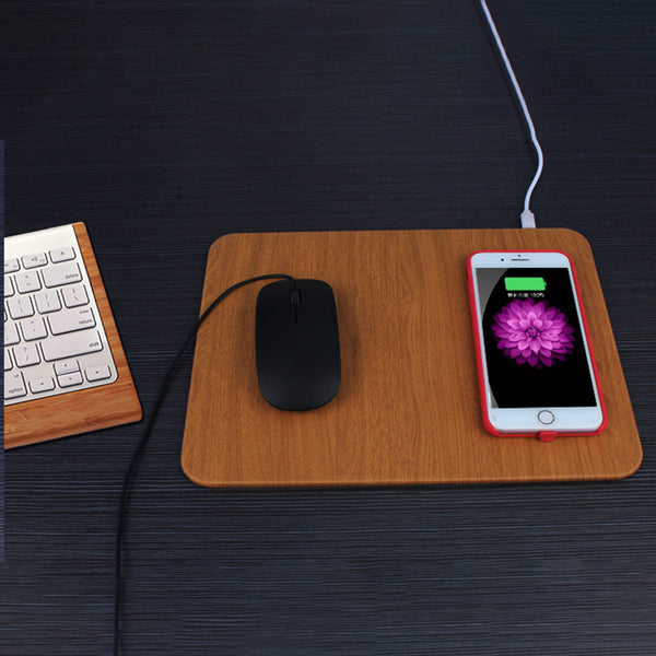 Customised Wireless charging mouse pad ,  corporate gifts