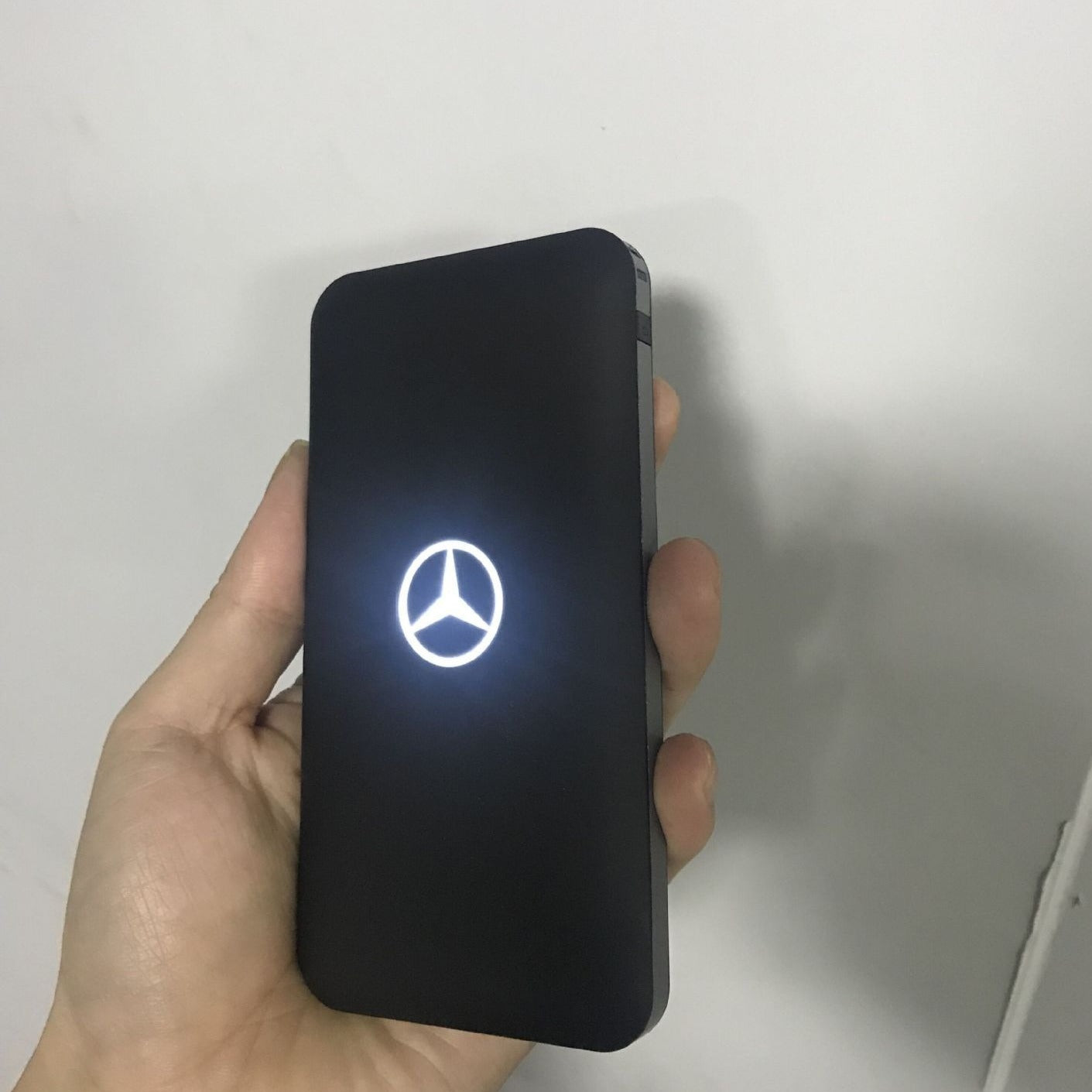 Customised New mobile Power Rubber with Luminous Logo Backlight ,  corporate gifts
