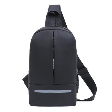 Customised USB Men's Shoulder Backpack ,  corporate gifts