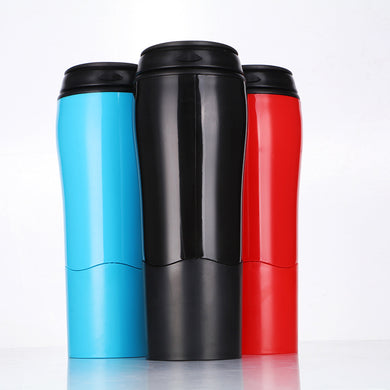 Customised Double-layer creative plastic coffee cup ,  corporate gifts