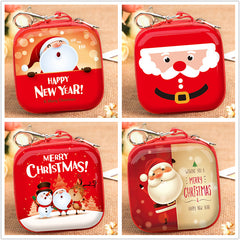 Customised Christmas Square Mini-pocket Wallet ,  corporate gifts