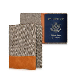 Customised Anti-Fouling Fabric Passport Holder ,  corporate gifts