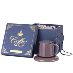 Customised Ceramic Solid Color Coffee Cup with Lid Spoon ,  corporate gifts