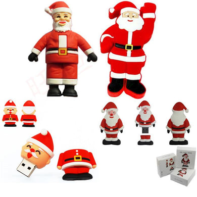 Santa U Disk Storage Flash Drive