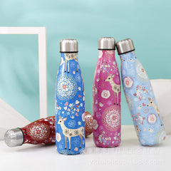 Coke bottle thermos cup customized