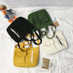 Canvas student bag