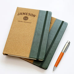 Ribbon Hardcover Office Notebook