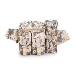 Camouflage Ride Kettle Outdoor Waist Package