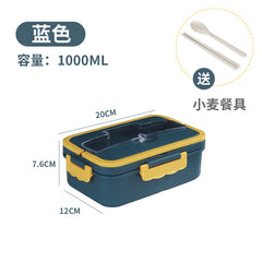 wheat straw portable lunch box customized