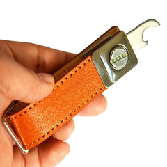 Leather Cross-border key fog collector customized