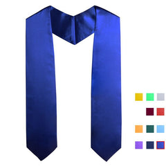 Customised Adult blank graduation scarf  customized , scarf corporate gifts