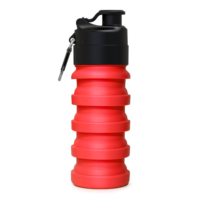 folding silicone sports bottle