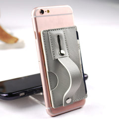 mobile phone bracket back stick card cover