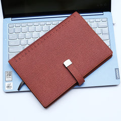 soft leather note-taker customised