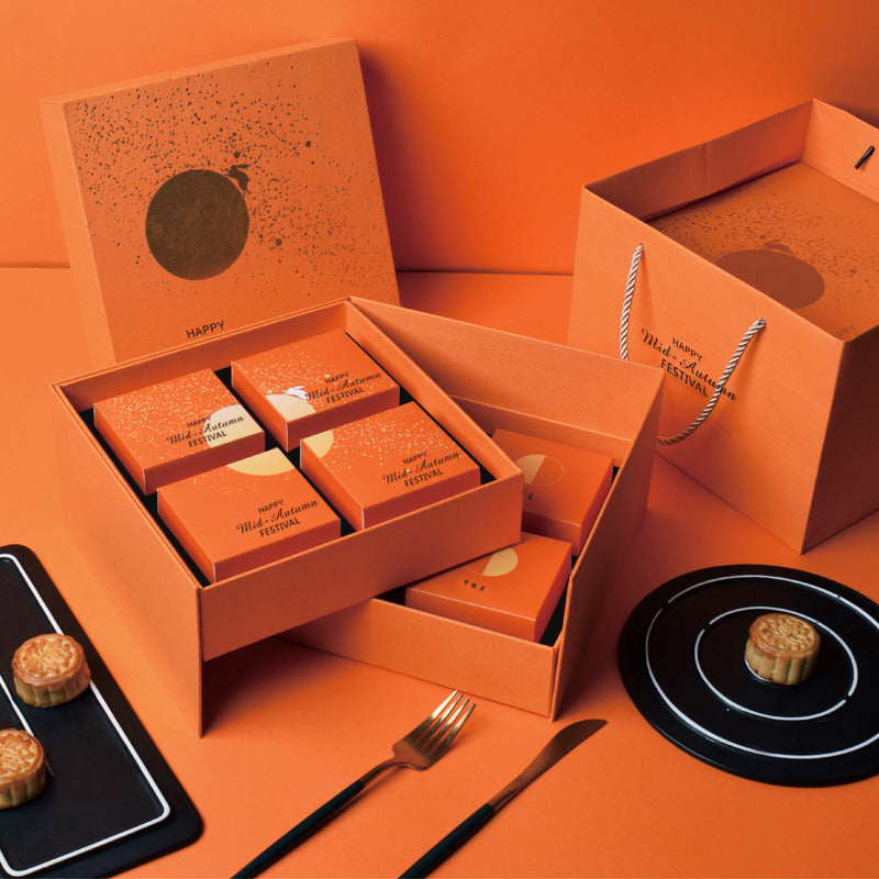 Orange Mid Autumn Festival  gift box