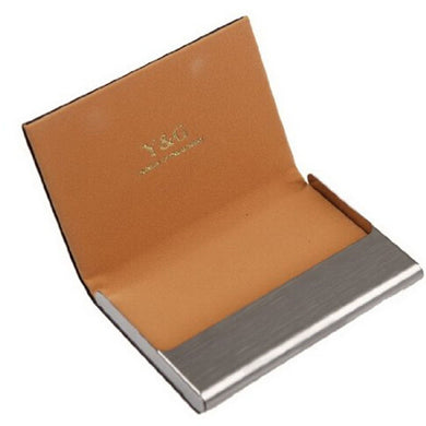 Customised Stainless Steel Business Card Holder ,  corporate gifts