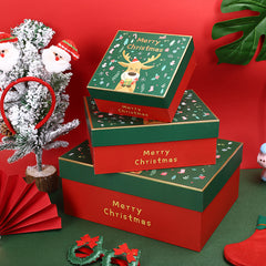 Christmas Eve Apple gift box customized