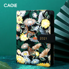Customised 2021 daily plan calendar , notebook corporate gifts