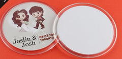 Customised Acrylic Cup Pad  Customized ,  corporate gifts