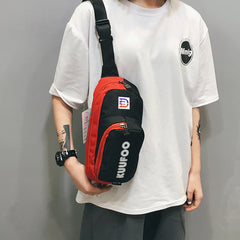 Oxford cloth sports bag Customized LOGO