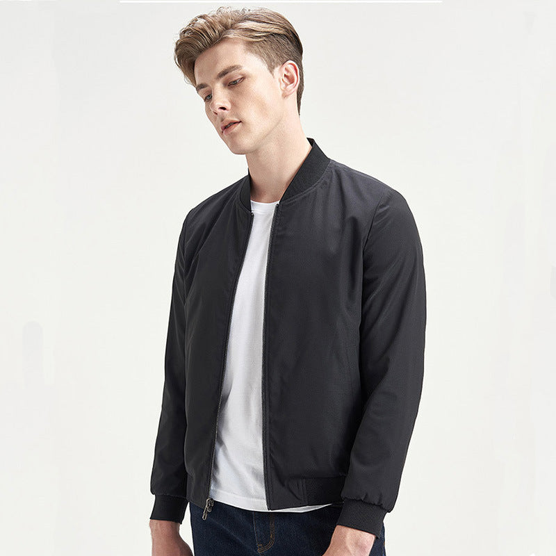 Men's round-necked jacket
