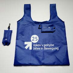Customised Polyester Hand-held Folding Vest Environmental Shopping Bag ,  corporate gifts