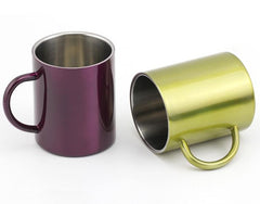 Steel Coffee Cup customized