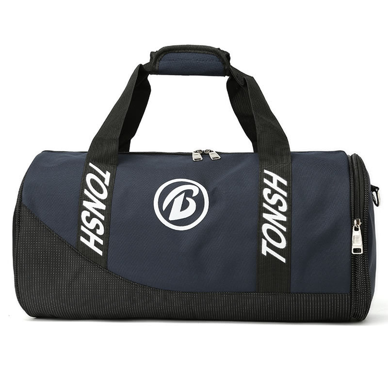Customised Large-Capacity Cylinder Shape Portable Fitness Bag ,  corporate gifts