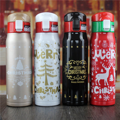 Customised Creative Stainless Steel Deer Head Thermal Insulation Cup ,  corporate gifts