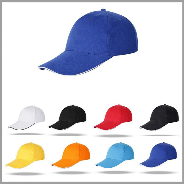 Customised Solid Color Printed Logo Cap ,  corporate gifts