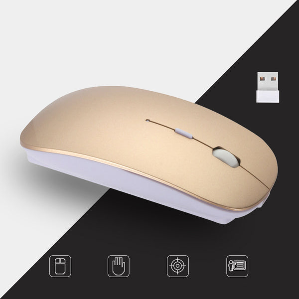 Customised New Ultra-Thin reless Charging Mouse ,  corporate gifts