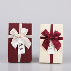 Christmas bow heaven and earth cover gift box