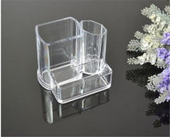 Customised Crystal Transparent Multi-Function Pen Holder ,  corporate gifts